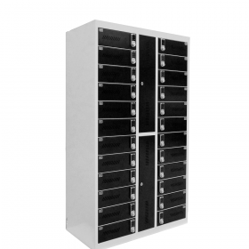 Safelock Laptop - Oplaad lockerkast - met cijfercodeslot voor 24 laptops of tablets *OUTLET*